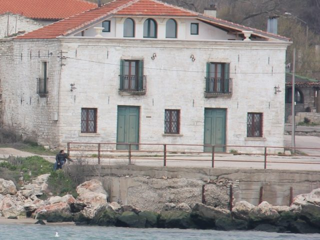Аn authentic Mediterranean-style stone building on the seafront in Kavarna with a beautiful view of the Black Sea.