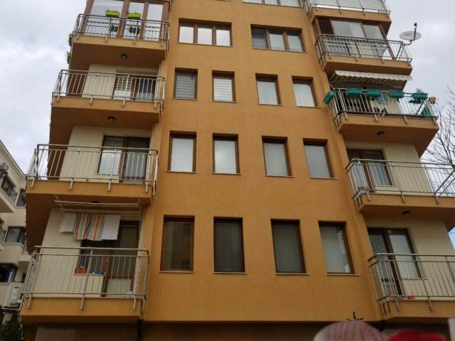 Varna apartment with partial panorama, Briz quarter