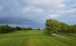 Golf course with path 1