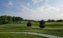 Golf course with path 3