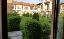 View on the street from Villa F33