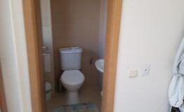 Villa F33. Guest toilet.