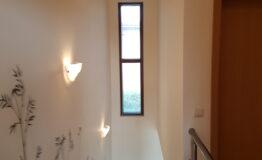 Villa F33. Second floor. Stairs
