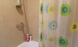 Villa F33. Second floor. Toilet with bath 1
